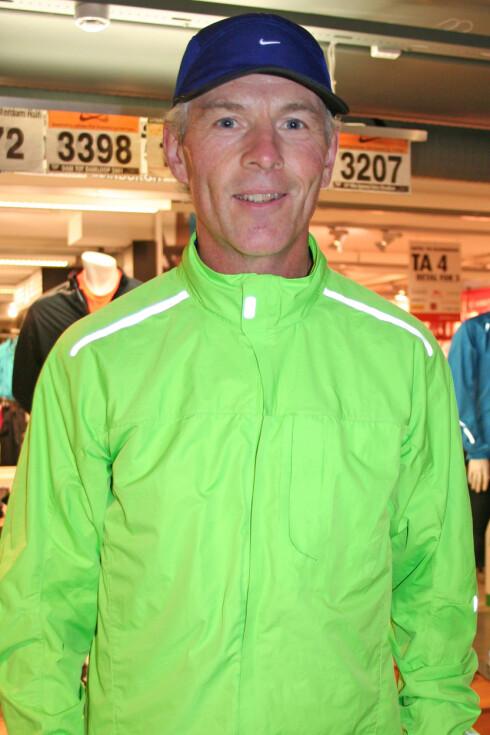 <strong>EKSPERTEN:</strong> Håvard Nordgaard er løpeekspert for Nike, og jobber med Running-kategorien hos sportsutstyr- og tøyprodusenten.  Foto: Adéle C. Blystad