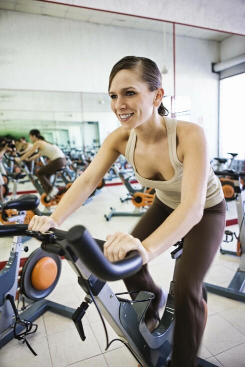 VÆR AKTIV: Sykling er også en effektiv treningsform, så om du hater å løpe, kan dette være et alternativ. Foto: Thinkstock
