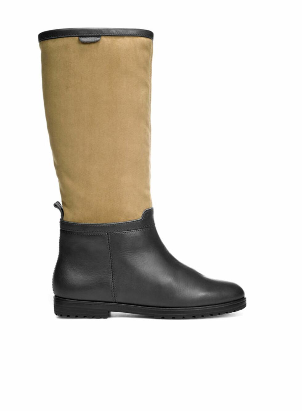 Elegant støvlett i to farger. 799 kroner fra Zara.no Foto: Produsenten