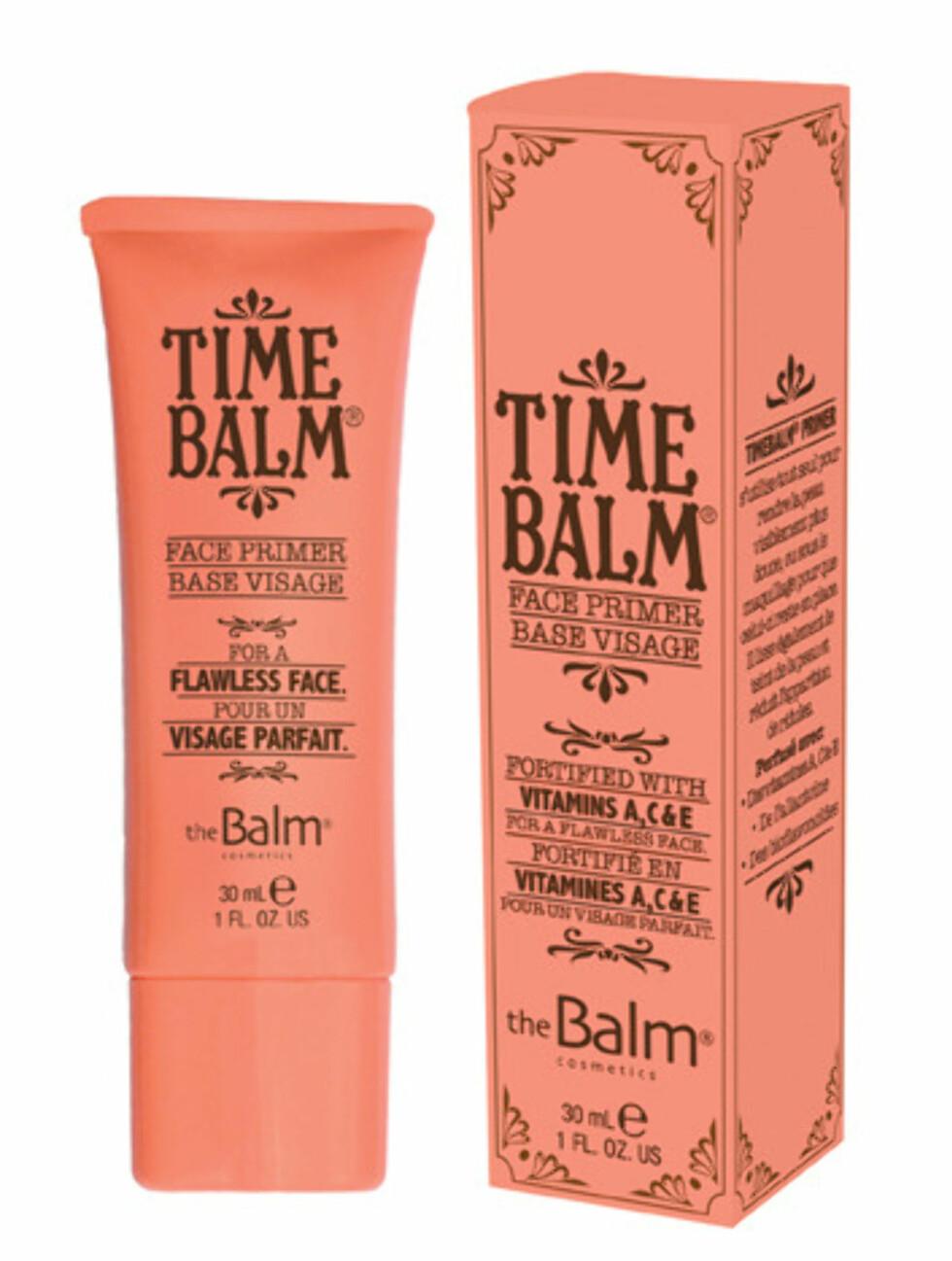 Time Balm Face Primer Base Visage (kr.329 for 30 ml/Makestyle.no). Foto: Produsenten
