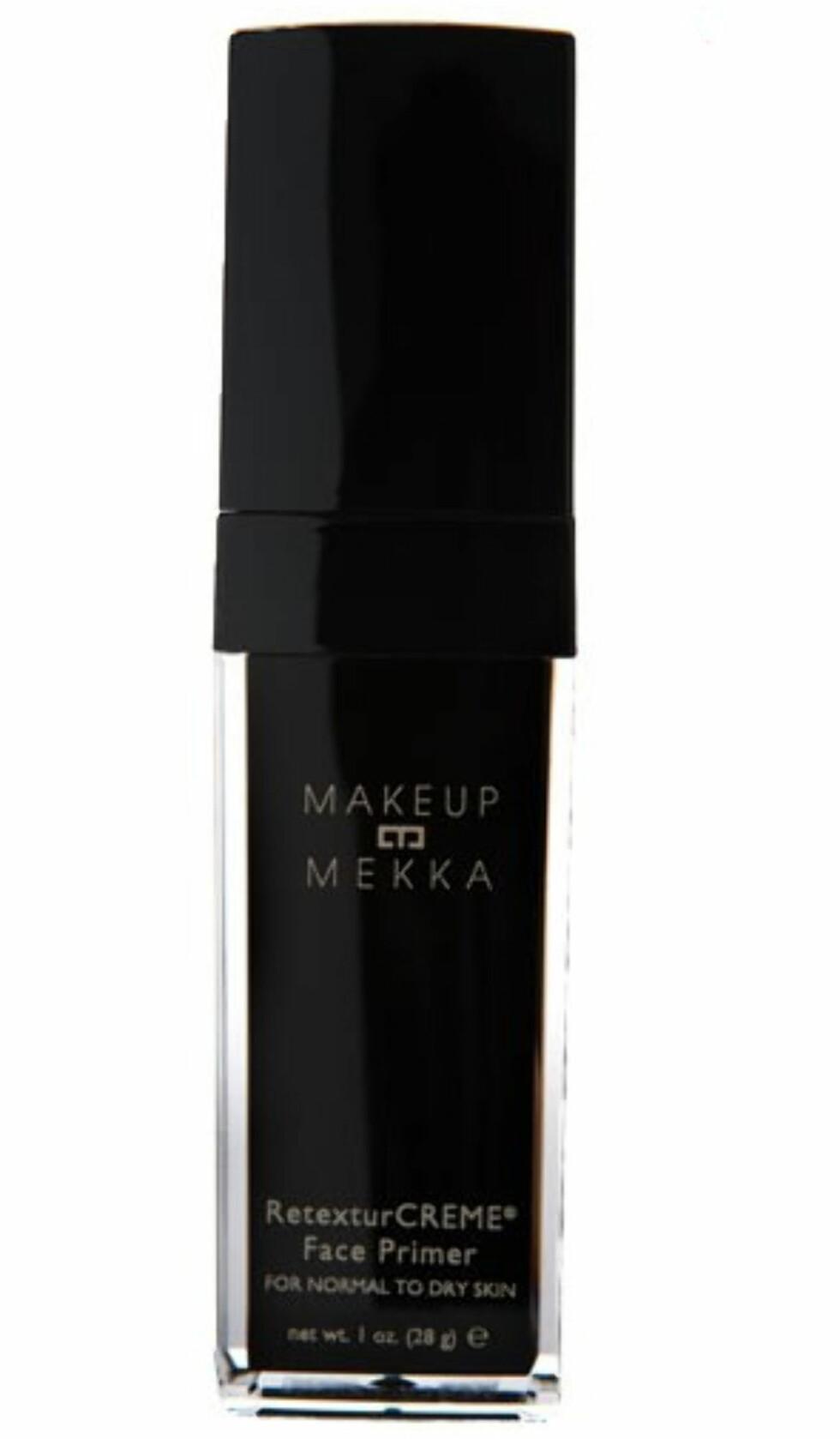 Makeup Mekka Retexture Creme Face Primer (kr.179 for 28 gram/Makeupmekka.no). Foto: Produsenten