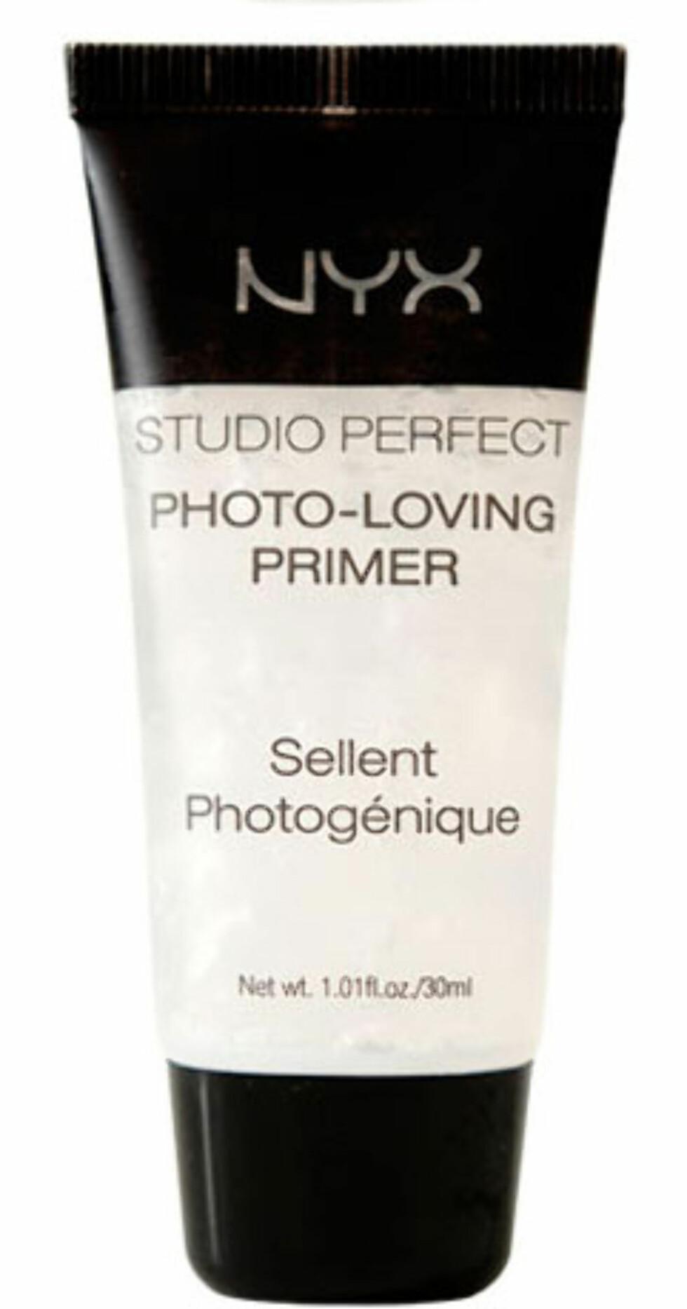 NYX Studio Perfect Photo-Loving Primer (kr.255 for 30 ml/Makestyle.no). Foto: Produsenten