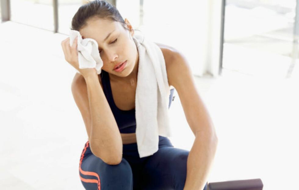 FOR MYE AV DET GODE: Gir du ikke kroppen nok tid til restitusjon kan du stagge effekten av treningsøktene dine.  Foto: Thinkstock
