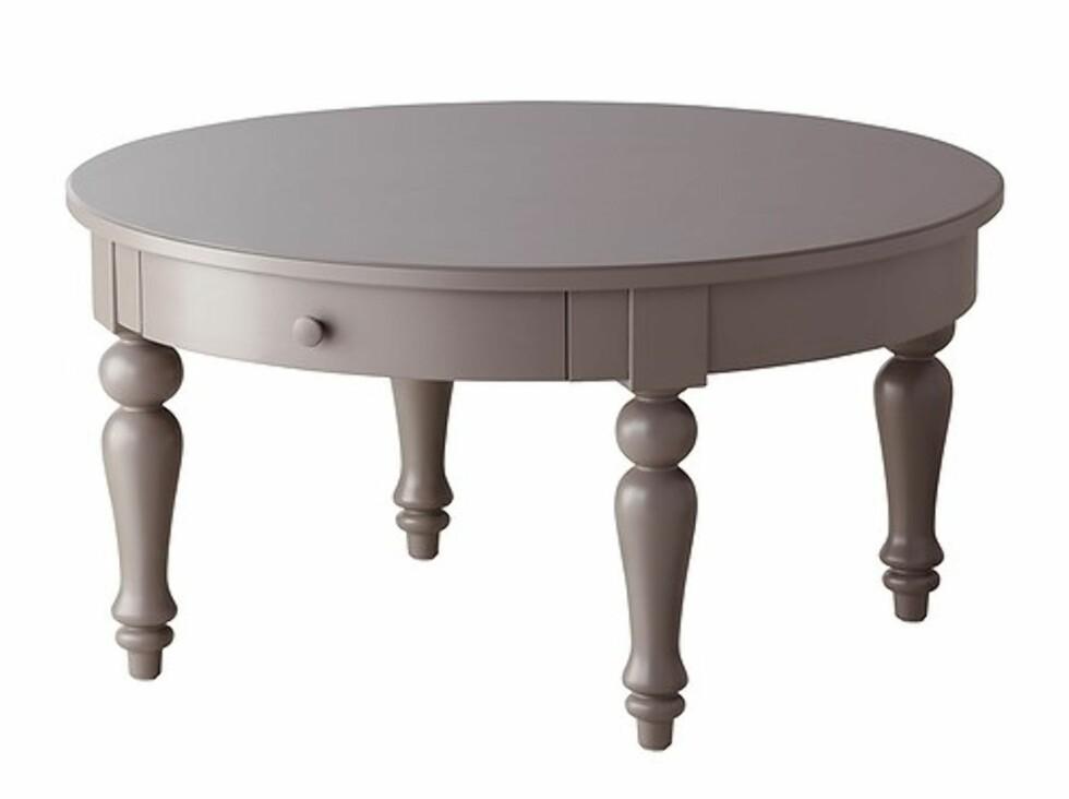 ISALA: Romantisk bord med praktiske skuffer til oppbevaring (kr.1590). Foto: Ikea.no