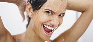 Så ofte bør du dusje