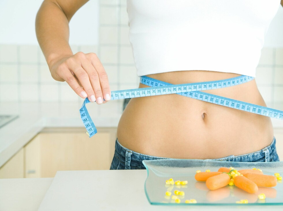 Hele førti prosent ender opp med å veie mer etter en typisk slankekur. Velg riktig, sjekk rådene lenger ned. Foto: colourbox.com