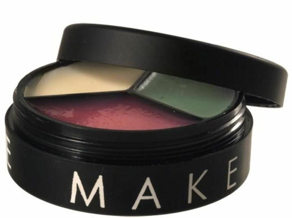Lip Care Mix er et trestegshjul med en skrubb-del, en gjenoppbyggende del og en pleiende del, fra Make Up Store, kr 175. Foto: Produsenten