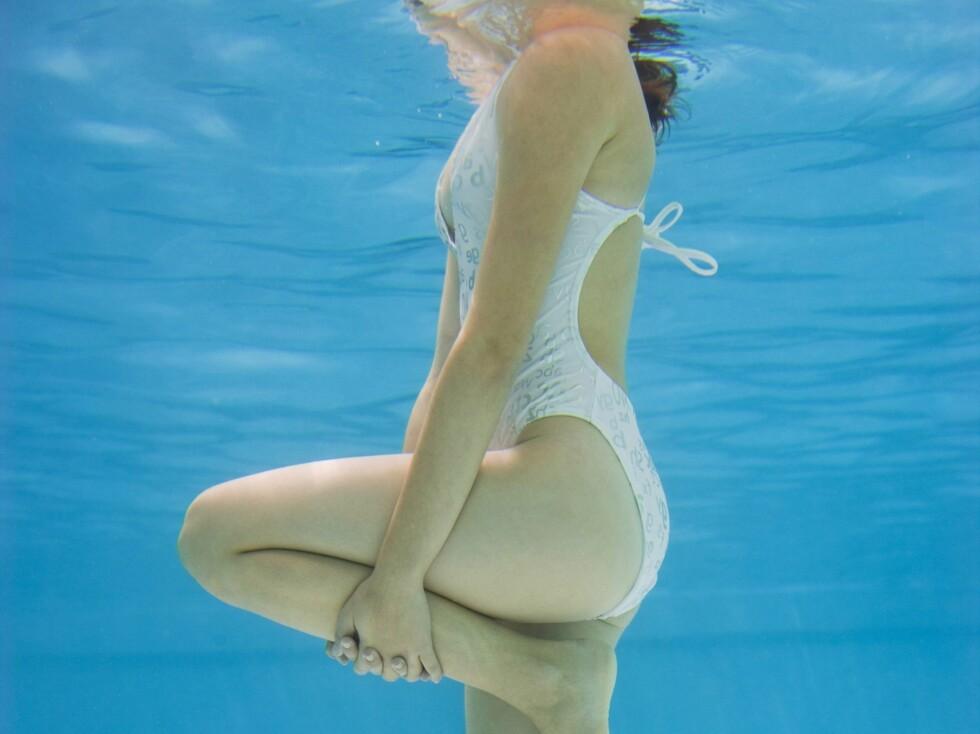 Hvorfor ikke ta treningen i vannet? Få litt variasjon fra treningssenteret og tredemøllen. Det beste er at det er morsomt. Foto: Colourbox.com
