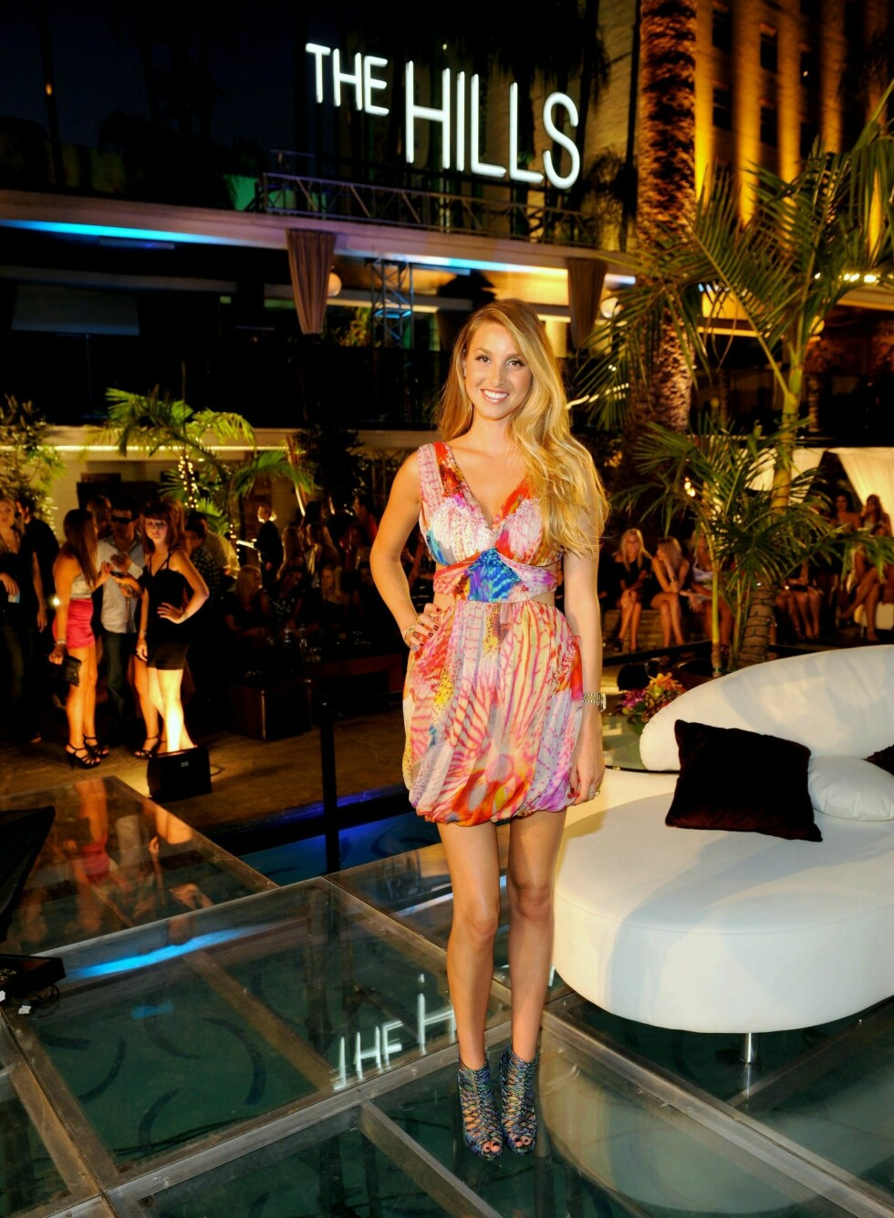 Whitney Port på avslutningsfesten etter siste episode av MTV-realityserien The Hills. Foto: All Over Press