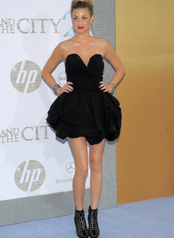 Sex and the City 2-premieren hadde realitystjernen og designeren som selvskreven gjest. Foto: All Over Press