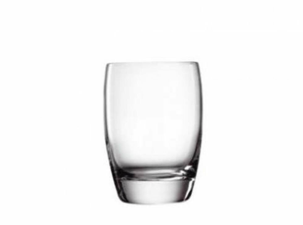 Ser du for deg Don Draper med dette glasset i hånden? Her mangler bare whiskyen (kr 69 per stk, Bormioli/Rafens).