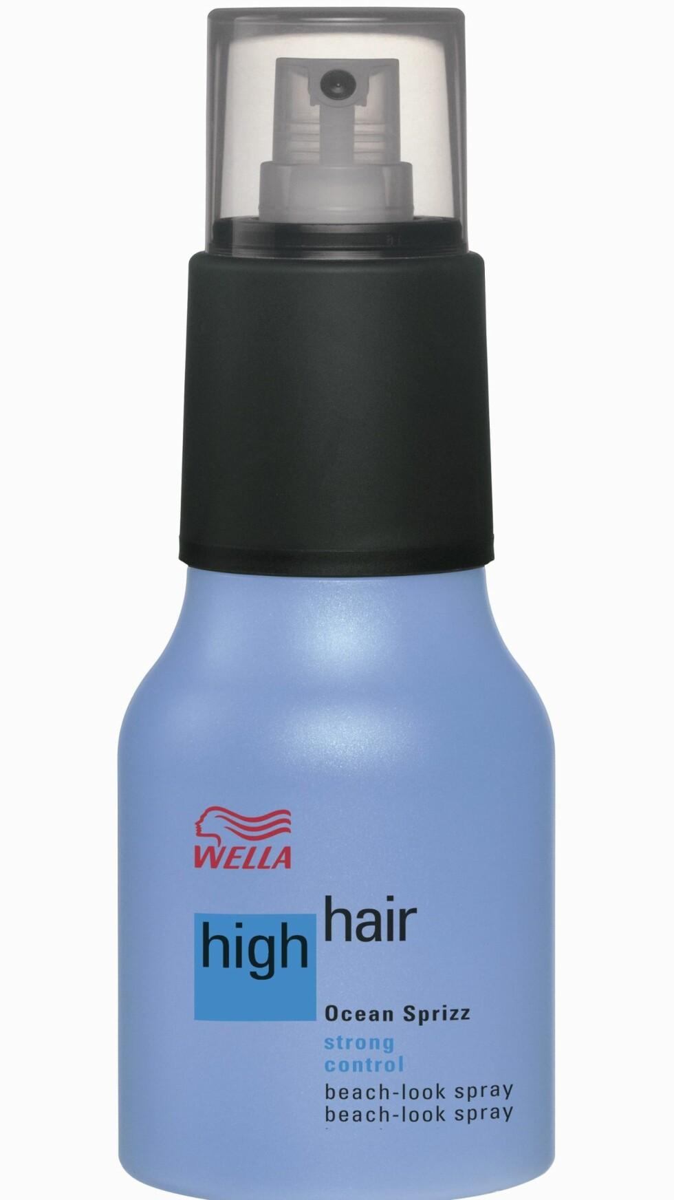 High Hair Ocean Sprizz 200 ml, fra Wella, ca. kr 195.  Foto: Produsenten