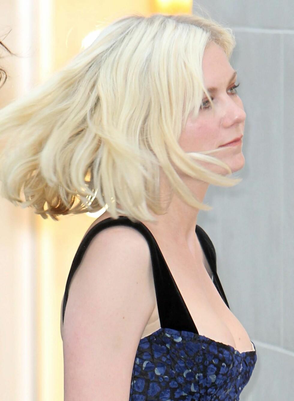 Skuespiller Kirsten Dunst nøyer seg med å friske oppfargen med litt rouge i kinnene til festlige anledninger.  Foto: All Over Press