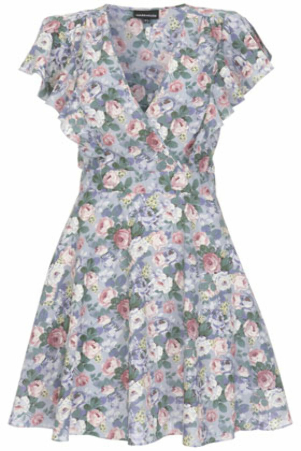 Sommerens nydeligste blomsterkjole? Perfekt for deg med timeglassfigur (kr 300, Warehouse).