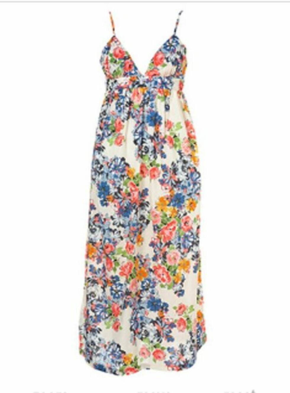 Tenkt å gå sommeren i møte med denne vakre kjolen? Ahh! (kr 360, Topshop).