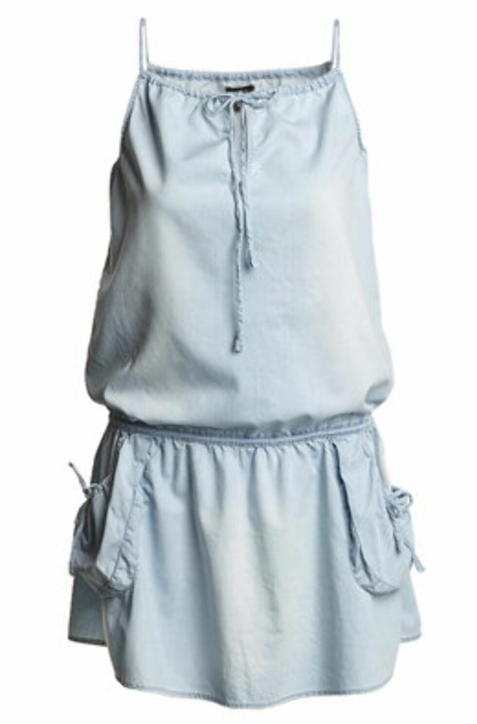 Denne kjolen kan du style opp med en kul veske og fargerike sandaler (kr 100, Lindex).