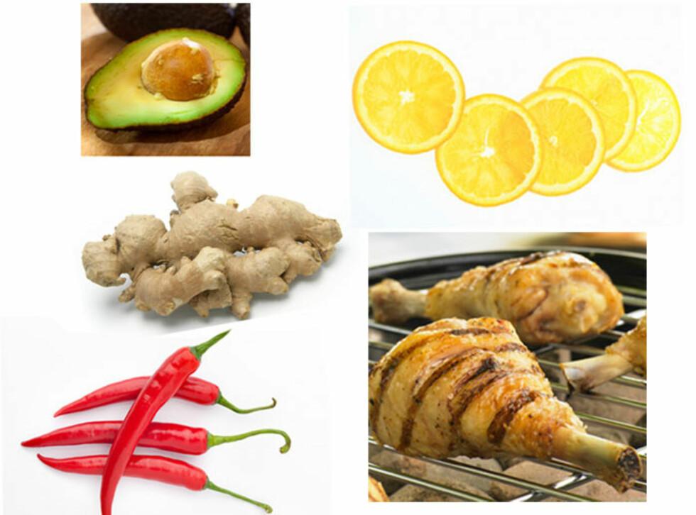FORBRENNINGSVENNLIG: Disse matvarene skal sette fart i forbrenningen din.   Foto: Panther Media