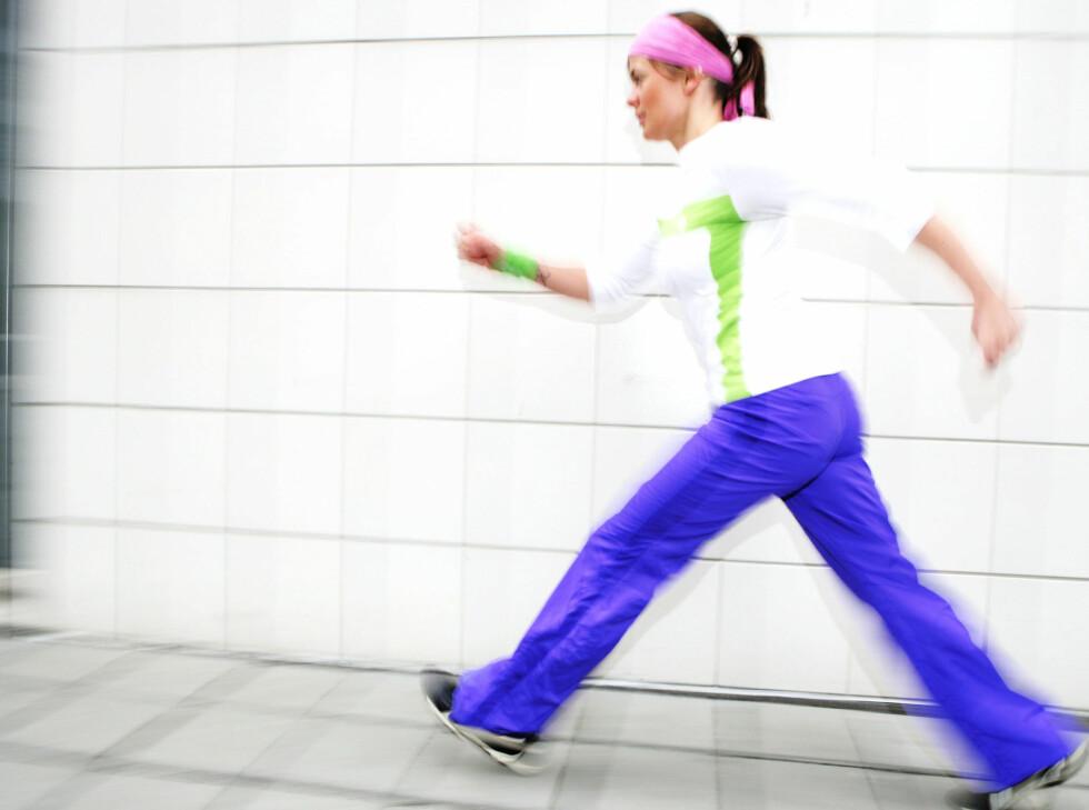 FÅ OPP FARTEN: Takket være rask gange kan du redusere risikoen for å få hjerneslag med 37 prosent.