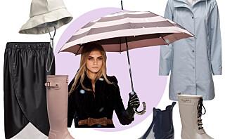 Regn, regn gå din vei! Eller kanskje ikke?