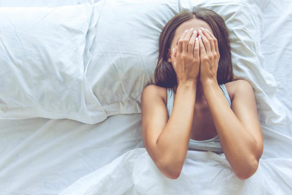 SØVN: Har du vært våken en hel natt, er det viktig å la bilen stå. Du har nemlig en reaksjonsevne tilsvarende den du har når du er godt over promillegrensa.  Foto: Shutterstock / George Rudy