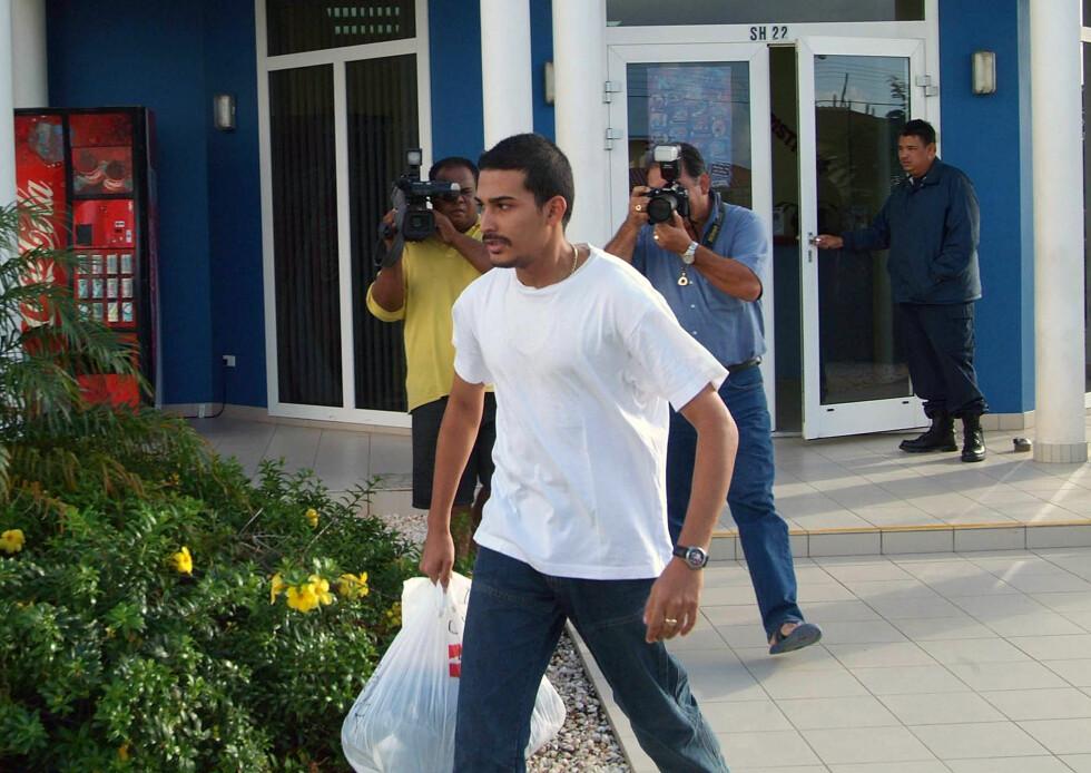 MISTENKT: Deepak Kalpoe var én av de to brødrene fra Surinam som ble mistenkt for mordet på Natalee. Brødrene ble til slutt løslatt. Foto: NTB Scanpix