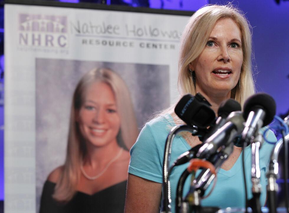 ÅPEN: Beth Twitty er overbevist om at det er Joran van der Sloot som har tatt livet av datteren. Foto: NTB Scanpix