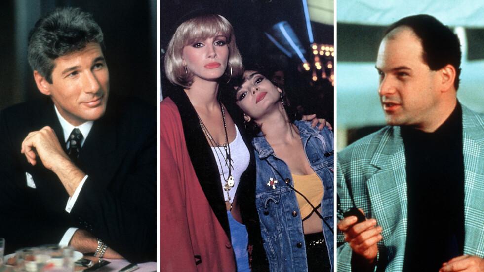 KLASSIKER: «Pretty Woman» ble en kjempesuksess da den kom ut i 1990 og er fortsatt en populær film. Men hvordan ser egentlig stjernene ut i dag?  Foto: NTB scanpix