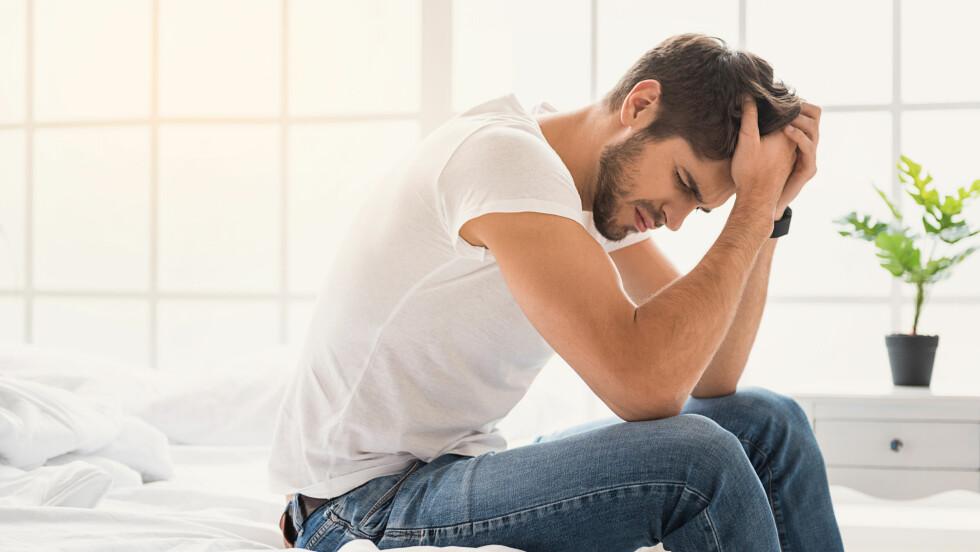 VOLD I HJEMMET: Det er mer tabulagt for en mann å innrømme at han blir slått, sier terapeut.  Foto: NTB scanpix