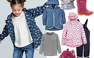 18 plagg som gjør barnehagebarna klare for våren