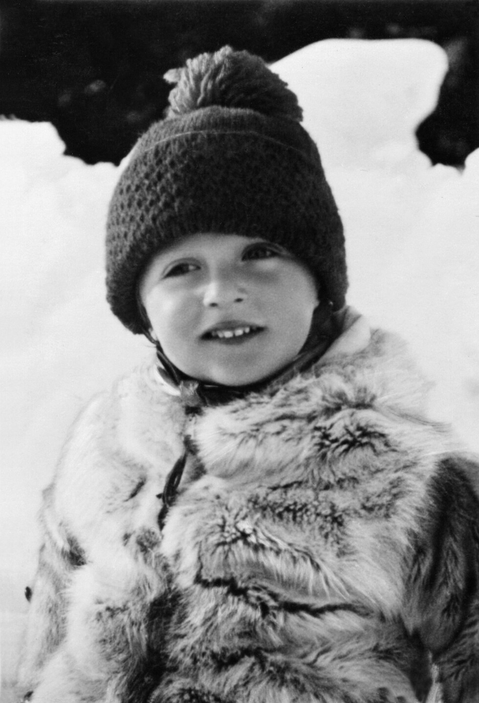 LILLEPRINSEN: Prins Harald fotografert under krigen.  Foto:  Foto: NTB Scanpix