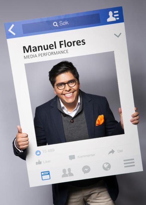 AVSLØRER OSS SELV: Manuel Flores menert at hva vi liker og kikker nærmere på, sier mer om oss selv enn bildene vi legger ut. Foto: Media Performance