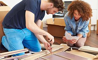 Derfor kan montering av møbler ofte føre til krangling