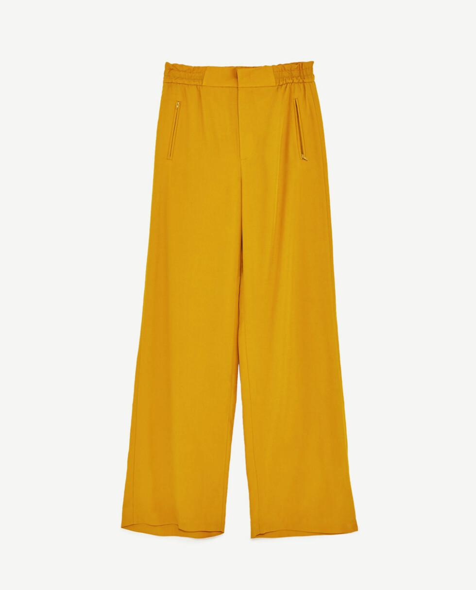 <strong>Bukse fra Zara | kr 499 | https:</strong>//www.zara.com/no/no/dame/nyheter/h%C3%B8ylivet-vid-bukse-c805003p4566508.html