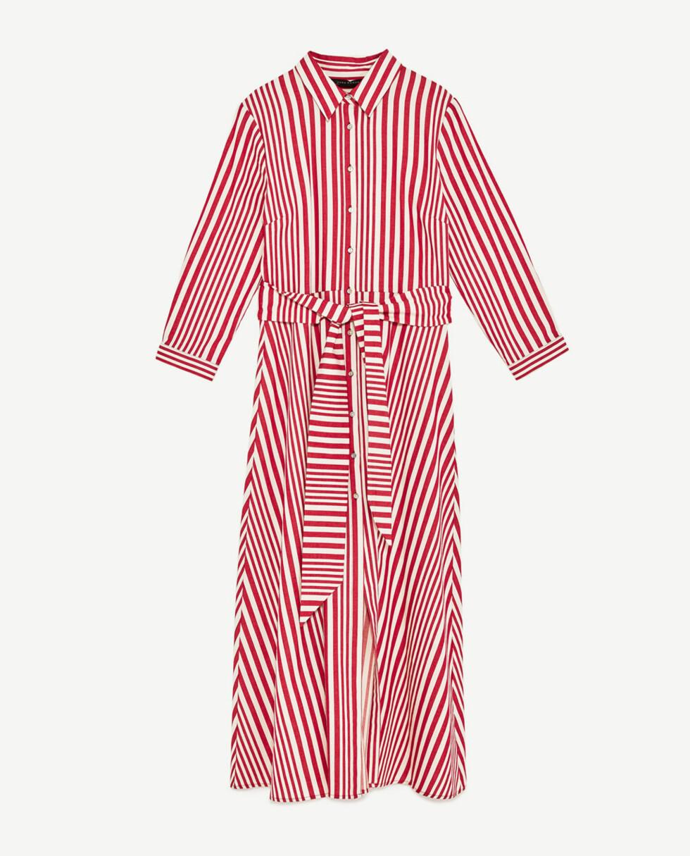 <strong>Skjortetunika fra Zara | kr 499 | https:</strong>//www.zara.com/no/no/dame/nyheter/skjortetunika-med-striper-c805003p4528006.html