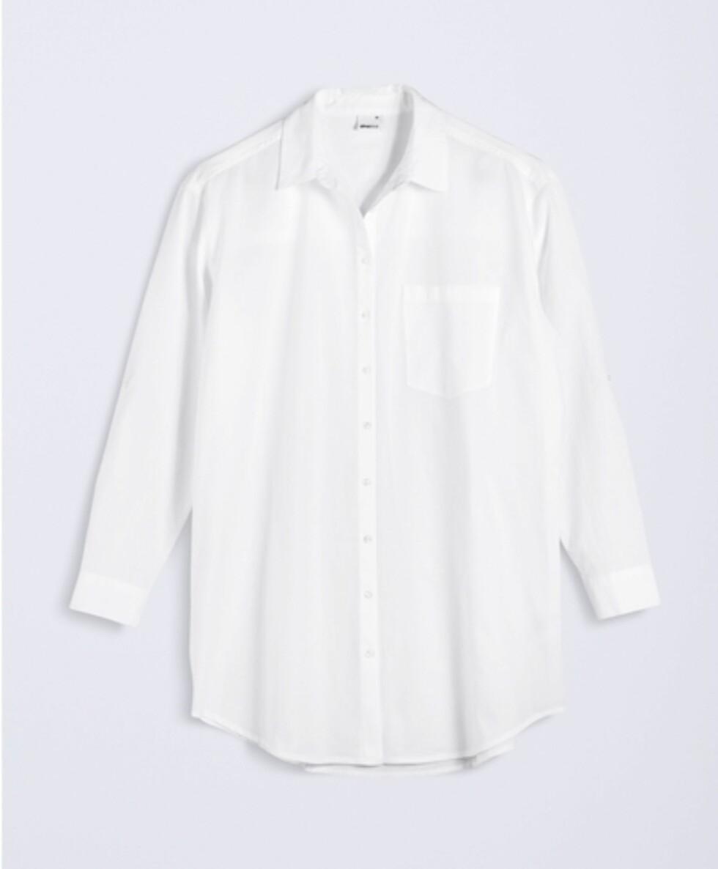 <strong>Skjorte fra Gina Tricot | kr 249 | http:</strong>//www.ginatricot.com/cno/no/kolleksjon/se-alle-klar/skjorter/annie-lang-skjorte/prod765091420.html
