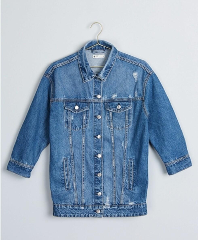 <strong>Jakke fra Gina Tricot | kr 499 | http:</strong>//www.ginatricot.com/cno/no/kolleksjon/se-alle-klar/jakker/harper-denim-jacket/prod766695000.html