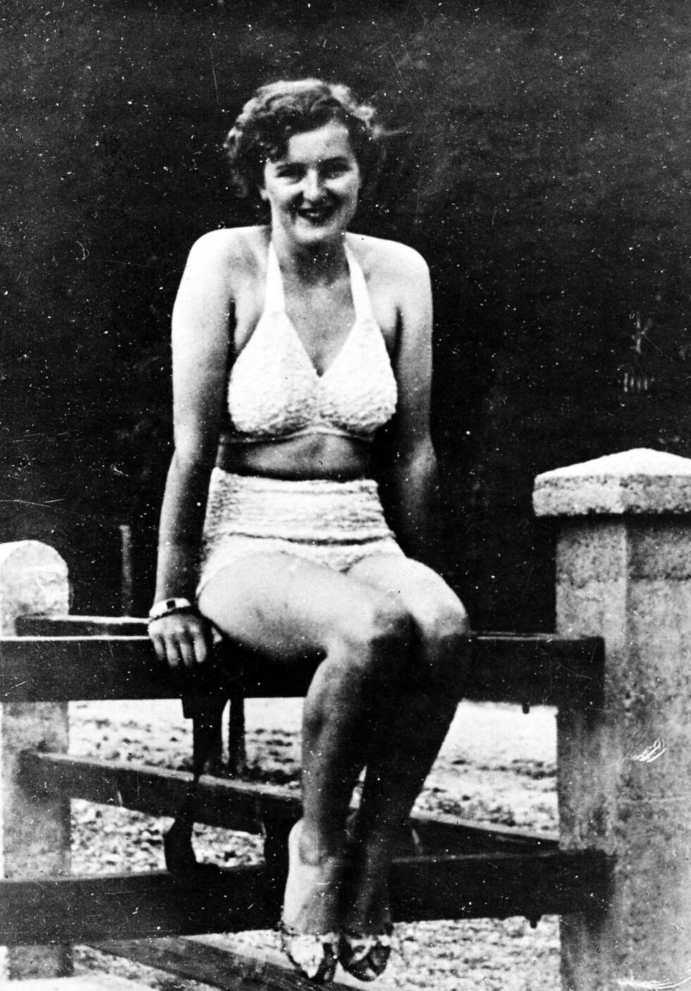 EVA BRAUN: Den tyske kvinnen falt for der Fürer, og ble tro ved hans side til døden skilte dem ad. Foto: NTB Scanpix
