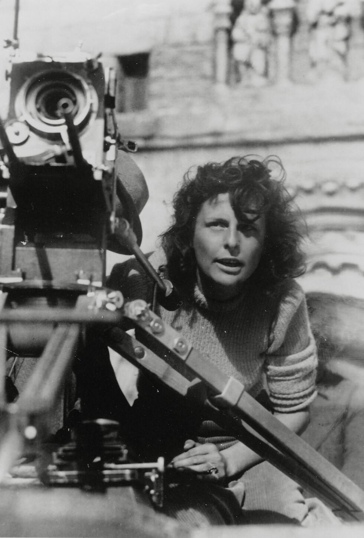 LENI RIEFENSTAHL: Den tyske filmskaperen har i ettertid hevdet at hun ikke ante hva som skjedde i konsentrasjonsleirene.  Foto: NTB Scanpix