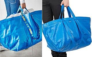 Sjekk Balenciagas kopi av Ikea-posen!
