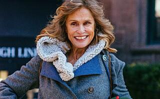 Lauren Hutton (73) i ny undertøyskampanje