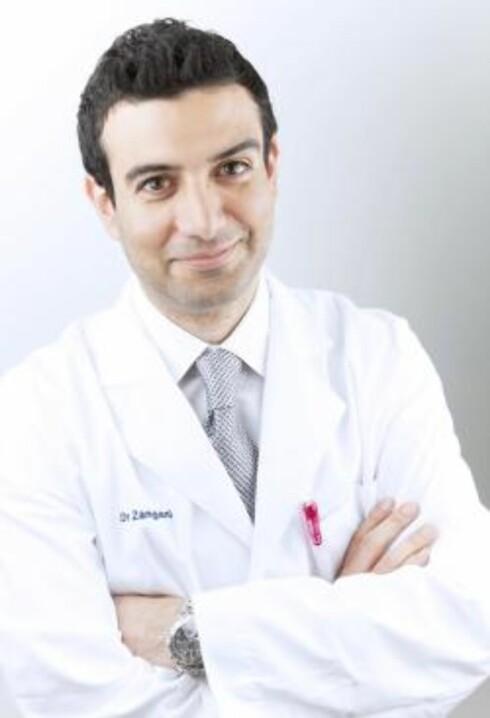 EKSPERT: Michael Zangani er hudlege ved Volvat og Akademiklinikken.  Foto: Akademiklinikken