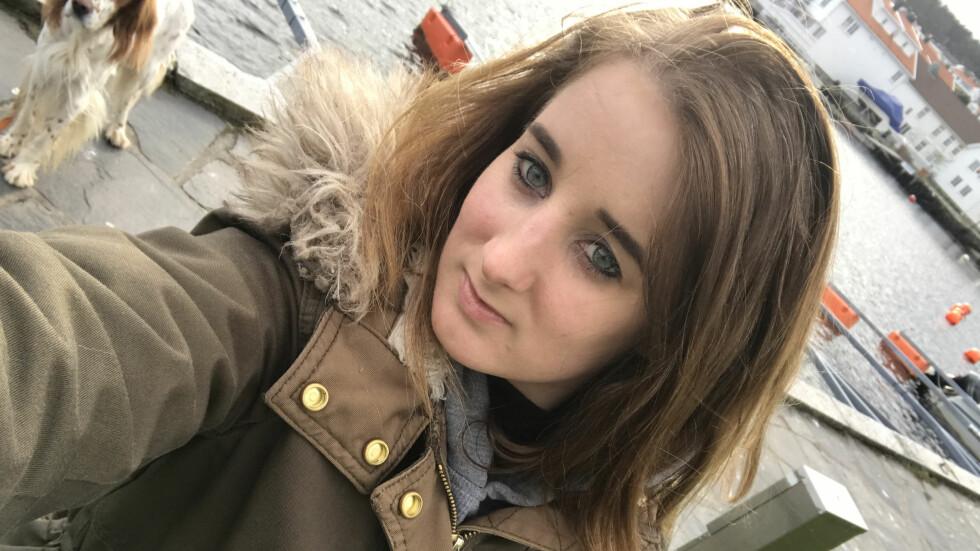 JERNMANGEL: Tina Stangstuen (29) har en sjelden blodsykdom. Legen mente at kroppen til Tina hadde hatt lav blodprosent så lenge, at den hadde begynt å venne seg til det. Men det var bare et spørsmål om tid før det ville gått galt. Foto: Privat