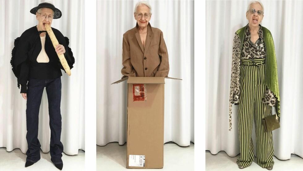 ERNESTINE STOLLBERG: Den 95 år gamle damen fra Wien ble modell for en konseptbutikk i 2016. Nå er hun superhot på Instagram og vi forstår godt hvorfor. Foto: Skjermdump fra Instagram / @park_wien
