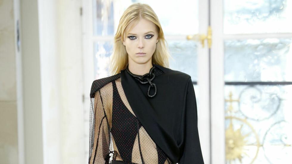 ULRIKKE LOUISE LAHN HØYER: Den danske modellen var vissnok for stor for det franske motehuset Louis Vuitton ifølge en tekst hun har skrevet og lagt ut på sin Facebook- og Instagramprofil. Foto: Shutterstock