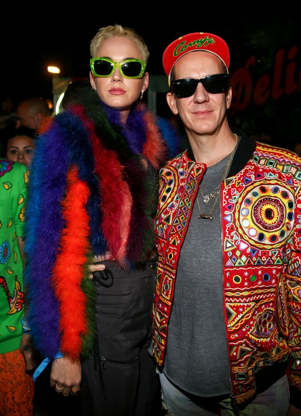 Katy Perry og Jeremy Scott Foto: Shutterstock