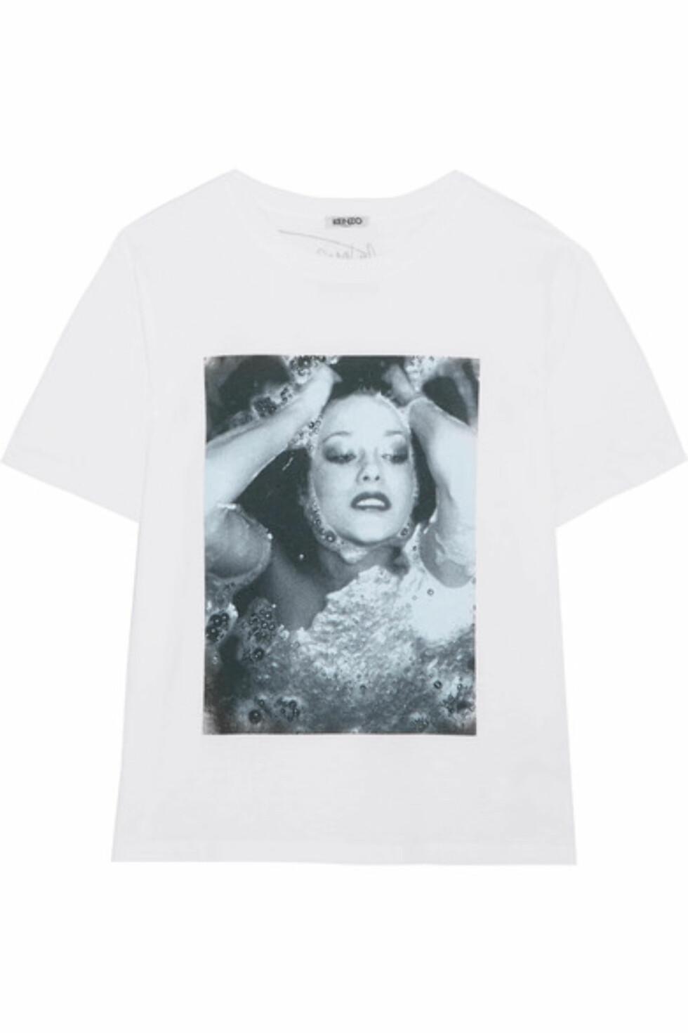 T-skjorte fra Kenzo via Net-a-porter.com | kr 1314 | http://apprl.com/no/pd/4Lt5/
