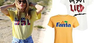 Gjør et statement med t-skjorten