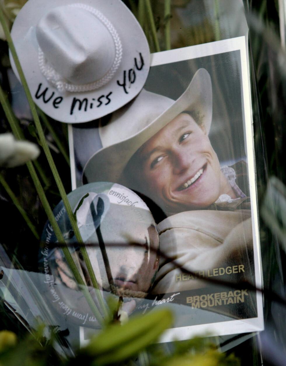 <strong>HETH LEDGER:</strong> Ledger ble funnet død i leiligheten sin på Manhattan 22. januar i 2008.  Foto: REUTERS