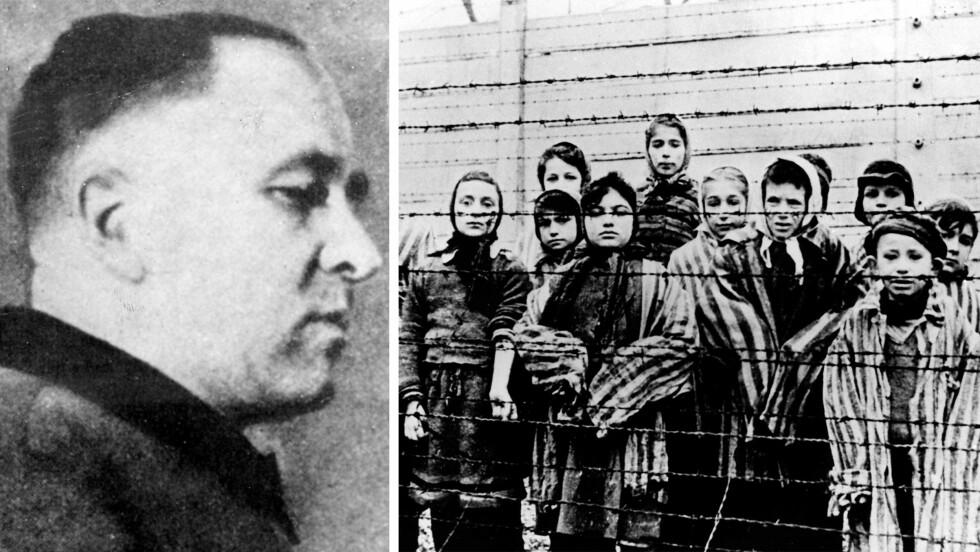 RUDOLF HÖSS: Rudolf Franz Ferdinand Höss var kommandant i konsentrasjonsleiren Auschwitz fra mai 1940 til november 1943. Der fikk han hovedansvaret for nazistenes utryddelse av jødene. Foto: NTB Scanpix