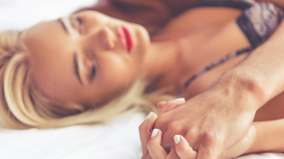 ORALSEX: Du kan få en rekke kjønnssykdommer munn og hals når du gir noen oralsex, så det er anbefalt at du bruker kondom.  Foto: Shutterstock / George Rudy